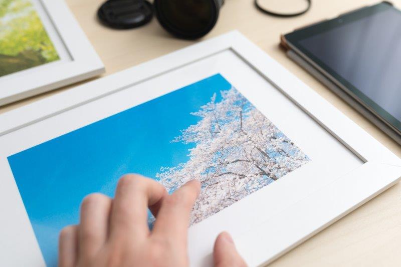 写真パネルを自分で作成する方法