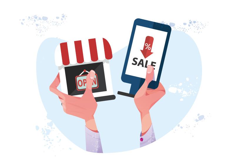 お店でデジタルサイネージの導入を検討中の方へ!運用のポイントをご紹介!