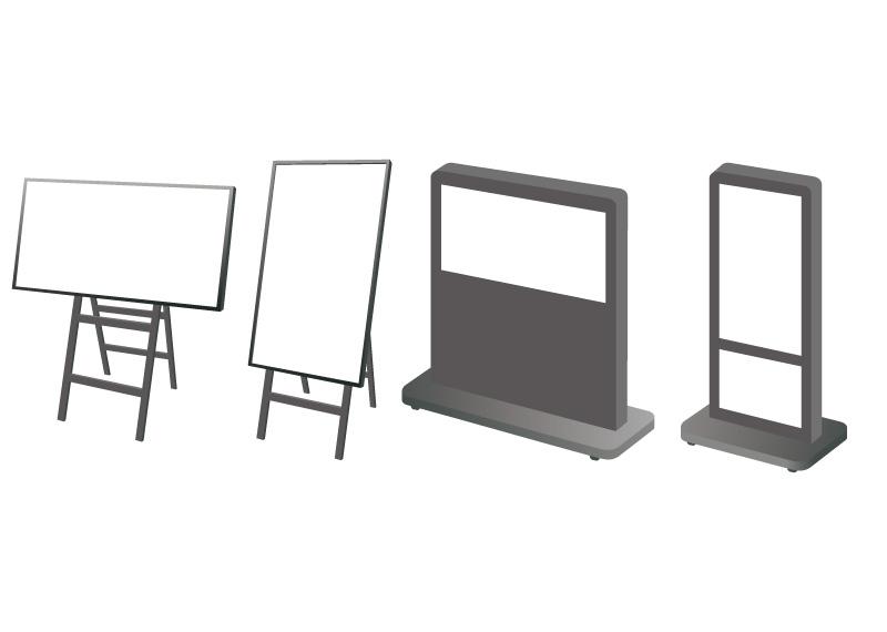 デジタルサイネージの種類を紹介!効果的な看板で集客を目指そう!