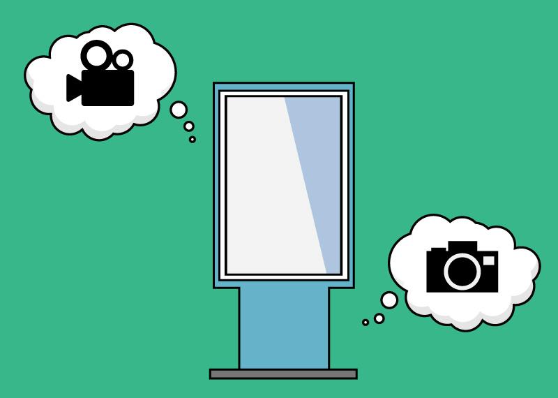 店頭集客に期待!デジタルサイネージのコンテンツは種類が豊富です!