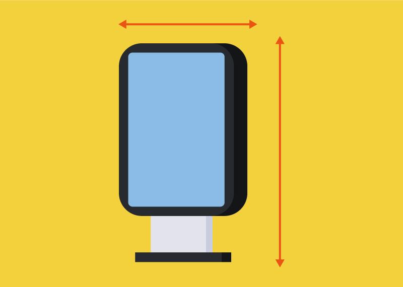 デジタルサイネージについて知りたい|サイズの選び方について紹介