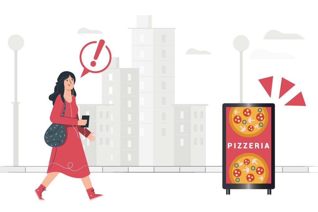 デジタルサイネージを飲食店で使うメリットや表示するべきコンテンツとは?