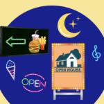 電飾を用いたスタンド看板で集客をする方法について解説します