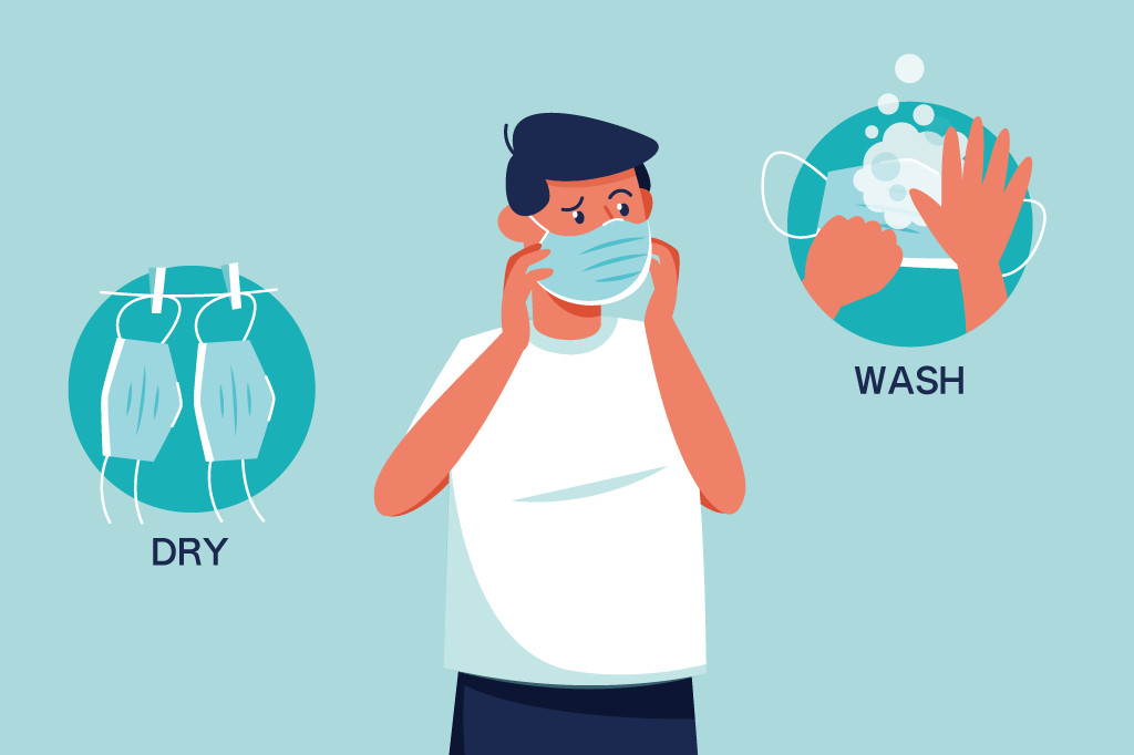 不織布マスクの臭いが気になる方に向けて原因と対策を紹介します!