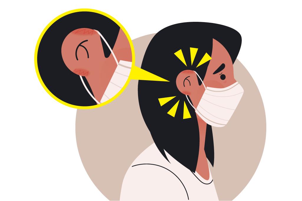 コロナによるマスク着用で耳が痛い方はいませんか?対処法をご紹介します