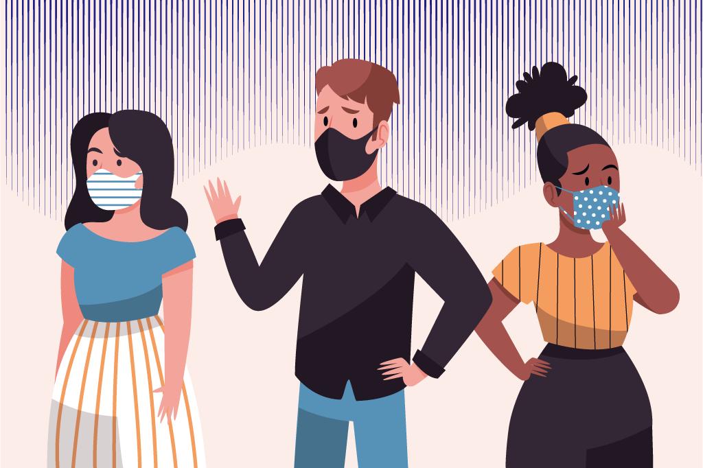 コロナでマスクをつけていると疲れる…その原因を紹介します