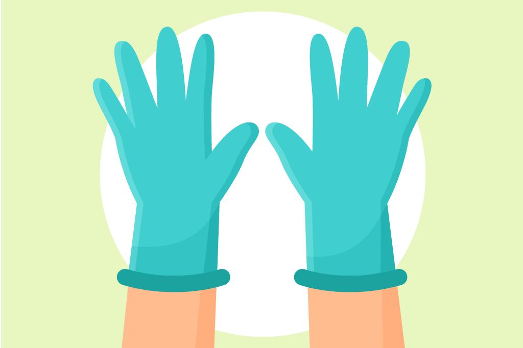 新型コロナ対策として接客時にゴム手袋を付けるときに注意したいこととは?